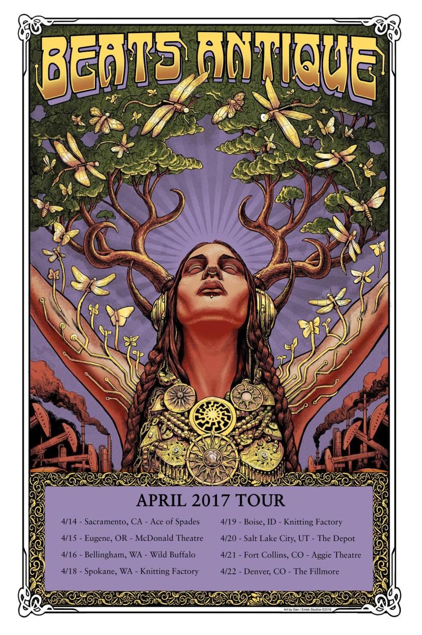 Beats Antique April Tour!