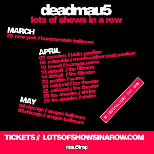 Deadmau5 tour
