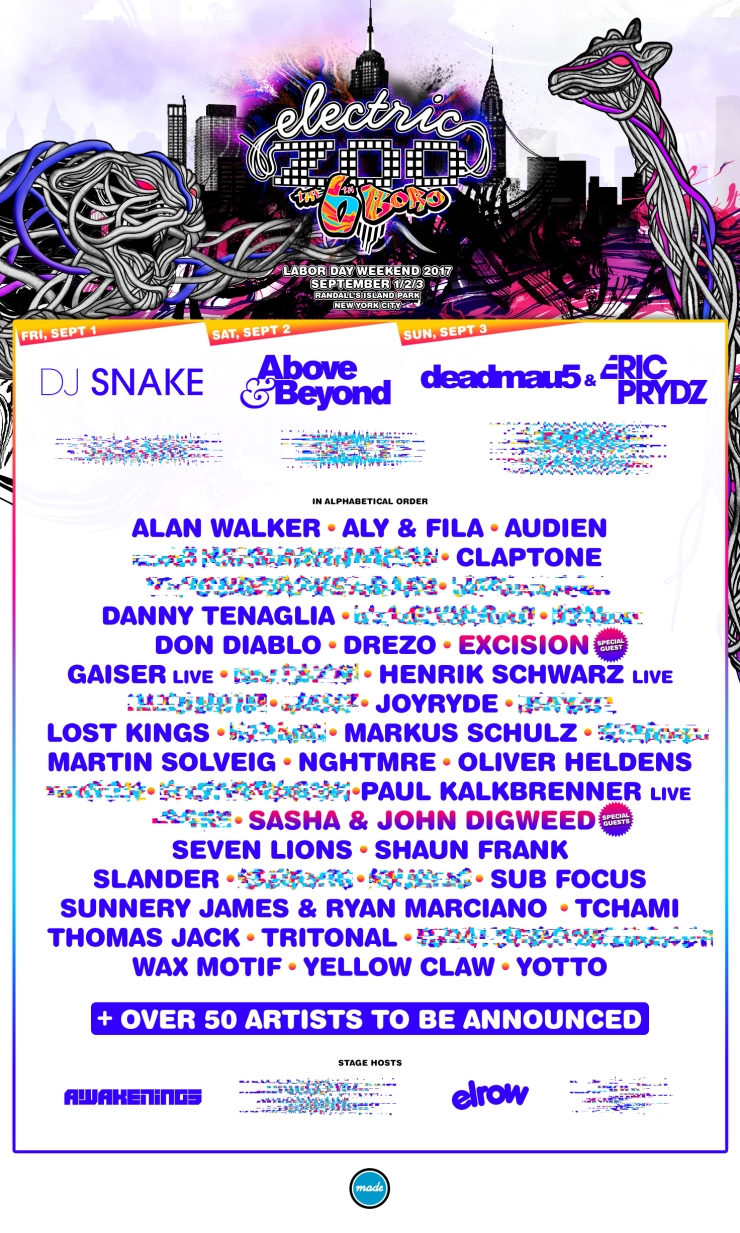 Electric Zoo Phase One!