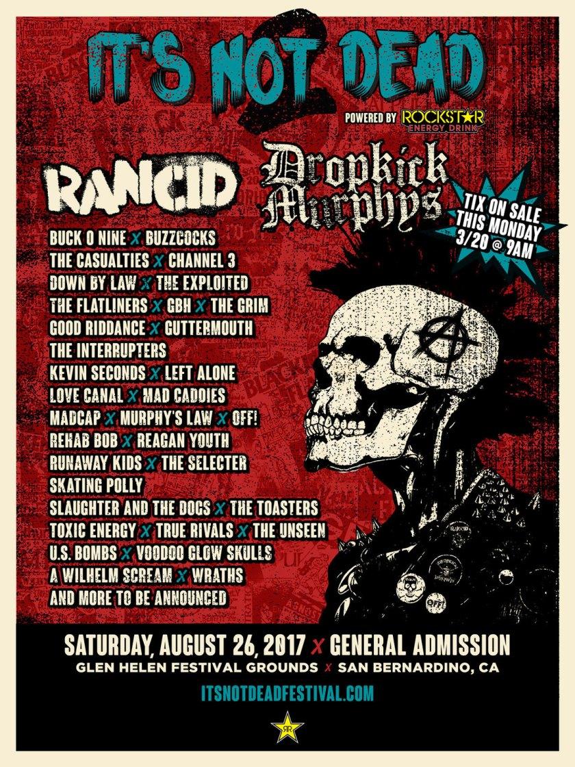 Its not dead Fest 2017