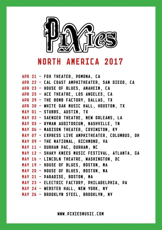 Pixies-Tour-dates