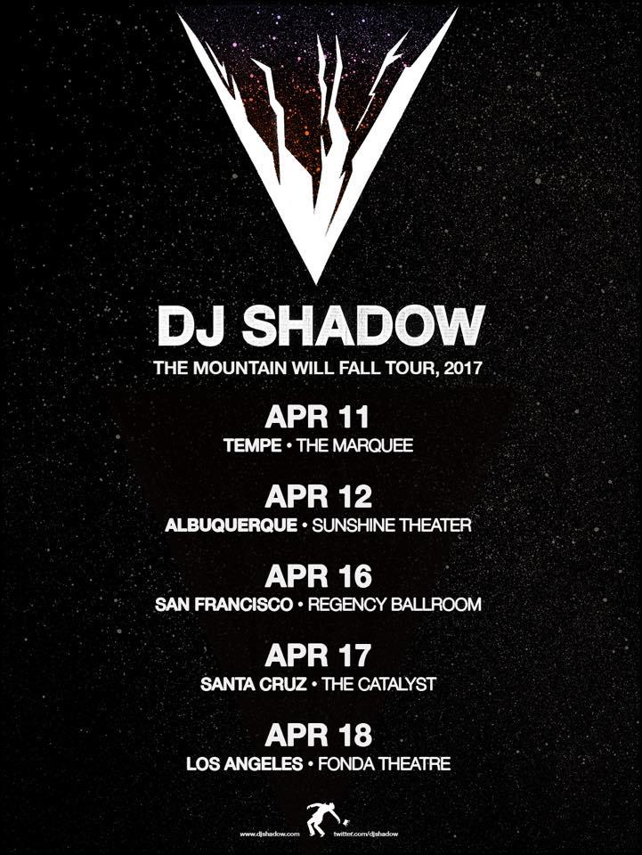 DJ shadow tour