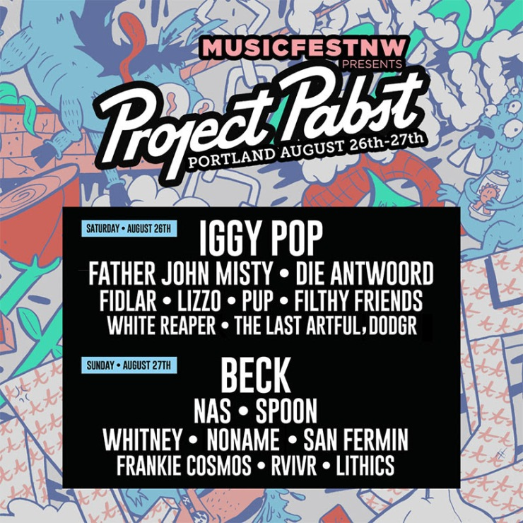 Project Pabst Lineup