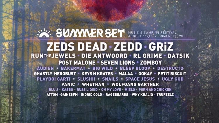 Summer Set Lineup 2017